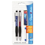 Papermate® ComfortMate Ultra Pencil Starter Set, Assorted Barrel, 0.7 mm