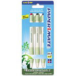 Papermate® Biodegradable Retractable Ballpoint Pen, Assorted, 4 per Pack