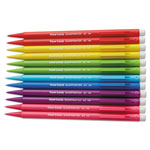 Papermate® Sharpwriter Pencil, No 2 Lead, 0.7mm, 1/DZ, AST