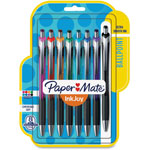 Papermate® Ballpoint Pen, Retractable, 1.0mm, 550RT, 8/PK, Ast