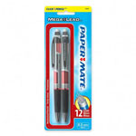 Papermate® Mechanical Pencil, Refillable, Jumbo Twist Eraser, .5mm, Red