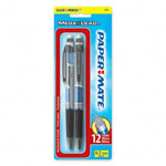 Papermate® Mechanical Pencil, Refillable, Jumbo Twist Eraser, .7mm, Blue