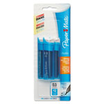 Papermate® Lead and Eraser Refills, 0.5Mm, Hb, Black