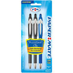 Papermate® Fine Point Flexgrip Elite Ballpoint Pen, Blue
