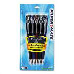 Sanford Mechanical Pencil, Refillable, .5mm Lead, Black, Blue, Red, 5/Pack