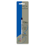 Parker Refillable Ballpoint Pen, Fine, Blue