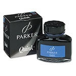 Parker Super Quink Permanent Ink For Parker Pens, 2-Ounce Bottle, Blue