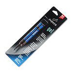 Parker Refills for Parker Gel Ink Rollerball Pens, Medium Point, Blue Ink, 2/Pack
