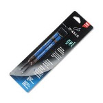 Parker Refill For Gel Ink Roller Ball Pens, Medium, Blue Ink