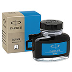 Parker Super Quink Washable Ink for Parker Pens, 2 oz Bottle, Blue