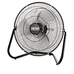 Patton / Holmes High Velocity Fan, Three-Speed, Black