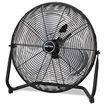 "Patton / Holmes High Velocity Fan, Three-Speed, Black, 8.58""W x 22.83""H"