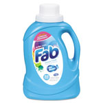 Fab® Ultra 2x Liquid Laundry Detergent, Ocean Breeze, 50oz, Bottle, 6/carton