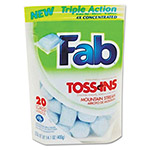 Fab® Toss Ins Powder Laundry Detergent