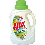 Ajax® 2X Free & Clear Liquid Laundry Detergent, 50 oz.