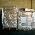"Box Partners 52"" x 48"" x 60"" 3 Mil Clear Pallet Cover"