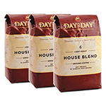 Day to Day Coffee 100% Pure Coffee, House Blend, 33 oz Bag, 3/Pack