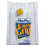 Hefty 3 Oz Cold Plastic Cups, White, Pack of 150