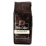 Peet's Bulk Coffee, House Blend, Decaf, Ground, 1 lb Bag