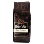 Peet's Bulk Coffee, Major Dickason's Blend, Ground, 1 lb Bag