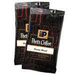 Peet's Coffee Portion Packs, House Blend, 2.5 oz Frack Pack, 18/Box