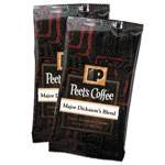 Peet's Coffee Portion Packs, Major Dickason's Blend, 2.5 oz Frack Pack, 18/Box