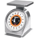 Pelouze Mechanical Portion-Control Scale, 32oz Cap, 7 x 5 Platform