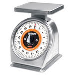 Pelouze Stainless Steel Rotating Scale, 32 x .25 Oz