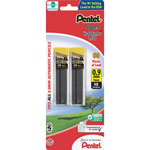 Pentel Super Hi Polymer® .9mm Lead Refills, HB, Pack of 60