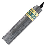 Pentel Super Leads 0.7 Millimeter, BE, Fine, Black