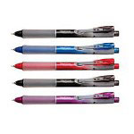 Pentel Automatic Pencil with Pocket Clip and Refillable Lead/Eraser, Violet