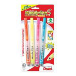 Pentel Handy-line Retractable S-Highlighters, Pink
