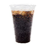 Chesapeake 20 Oz Pet Clear Plastic Cold Cup, 20 Sleeves of 50 Cups