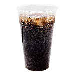 Chesapeake 24 Oz Pet Clear Plastic Cold Cup, 20 Sleeves of 30 Cups
