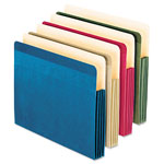 Pendaflex Recycled Paper Color File Pocket, Letter, 4 colors, 4/Pack