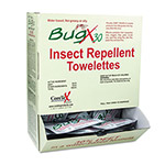 Coretex Insect Repellent Towelette, .27 oz, 50 per Box