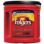 Folgers 00367 Classic Roast, 33.9 Ounces