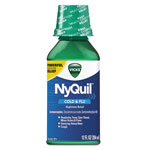 Vicks® NyQuil Cold & Flu Nighttime Liquid, 12 oz Bottle, 12/Carton