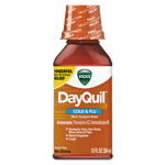Vicks® DayQuil Cold & Flu Liquid, 12 oz Bottle, 12/Carton
