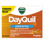 Vicks® DayQuil Cold & Flu LiquiCaps, 24/Box, 24 Box/Carton