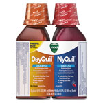 Vicks® DayQuil/NyQuil Cold & Flu Liquid Combo Pack, 12 oz Day, 12 oz Night, 6/Carton