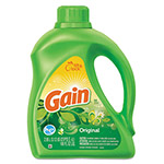 Gain Liquid Laundry Detergent, Original Scent, 100 oz Bottle, 4/Carton