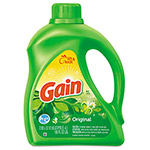 Gain Liquid Laundry Detergent, Original Scent, 100 oz Bottle