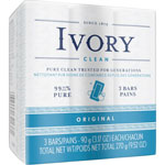 Ivory Wrapped Bar Soap, 3 Oz