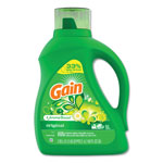 Gain 2X Ultra Concentrated Liquid Laundry Detergent, Original Scent, 100oz Bottle