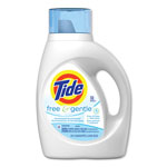 Tide Ultra, Liquid Detergent, 2x Concentrated, Free - Sensitive Skin, 32 Loads, 50 fl oz