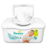 Pampers® Sensitive Baby Wipes, White, Unscented, 6 4/5 x 7, 36/Pack