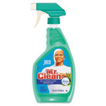 Mr. Clean Multipurpose Cleaning Solution With Febreze, 32 oz Bottle, Meadows & Rain, 6/ctn