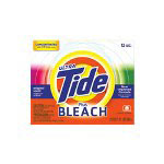 Tide Bleach Powder Laundry Detergent, Two-Pack
