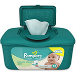 Pampers® Unscented Wipes, 72Sheets, 8PK/CT, GN
